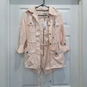 Forever 21 Pink Utility Jacket XS NEW